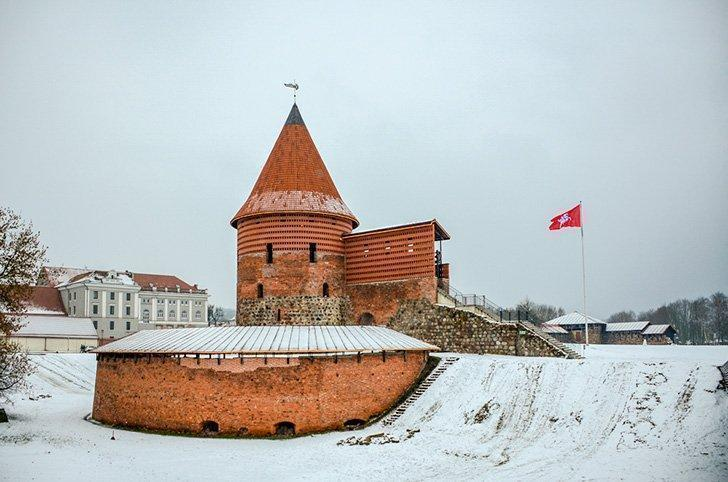 A visit to Kaunas Castle is a must-do when visiting Lithuania