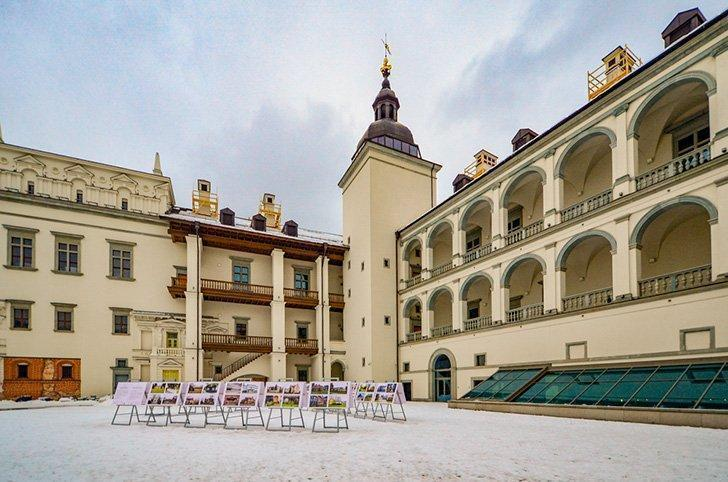 The Palace of the Grand Dukes in Vilnius Lithuania