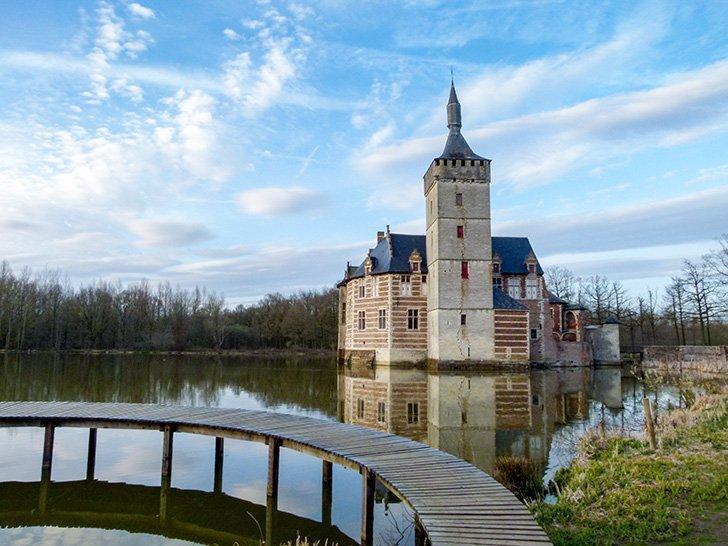 Horst Castle, in Belgium's picturesque Hageland.