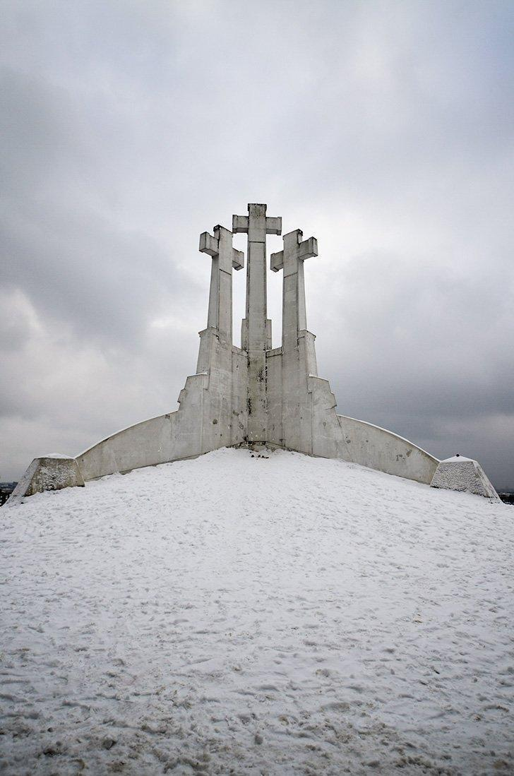 Don't miss the hike to the three crosses monument; one of the top things to do in Vilnius.
