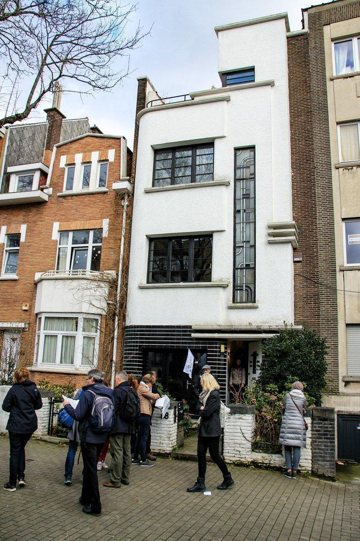 Coghen 68 is a prime example of Art Deco in Uccle, Brussels, Belgium.