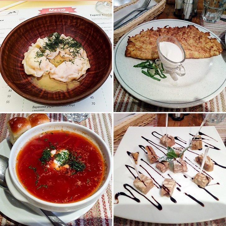 If you're wondering what to eat in Kiev restaurants, trying authentic Ukrainian food is a must.