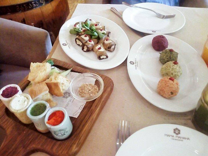 Don't miss the change to eat at a Georgian Restaurant in Ukraine.