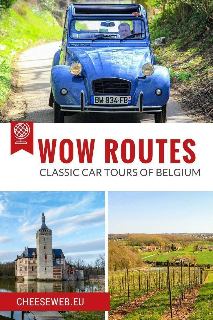 Adrian tours Belgium's Hageland blossom route in a classic 2CV with a tour package from WOW-Routes the perfect spring day-trip from Brussels.