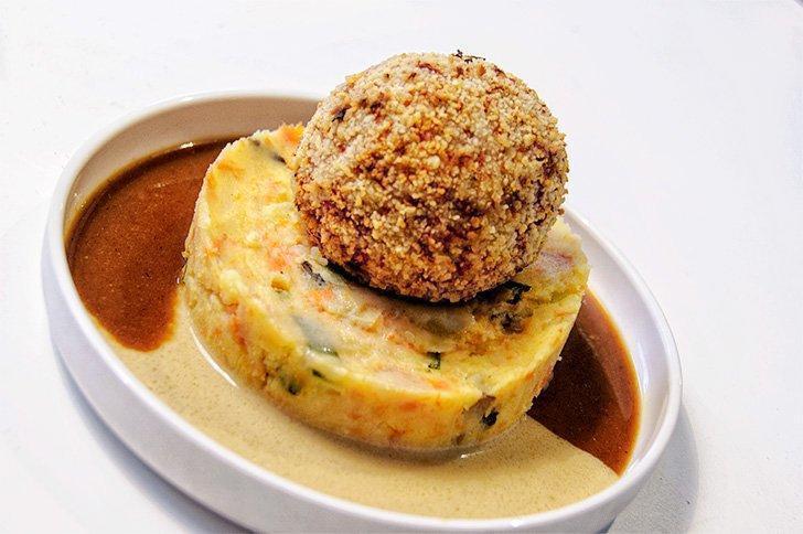 Balls & Glory offers a new twist on a Flemish classic dish.