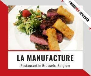 Monika reviews La Manufacture, a fine-dining restaurant in Brussels' center, steps from Grand Place, with a unique setting and fusion cuisine.