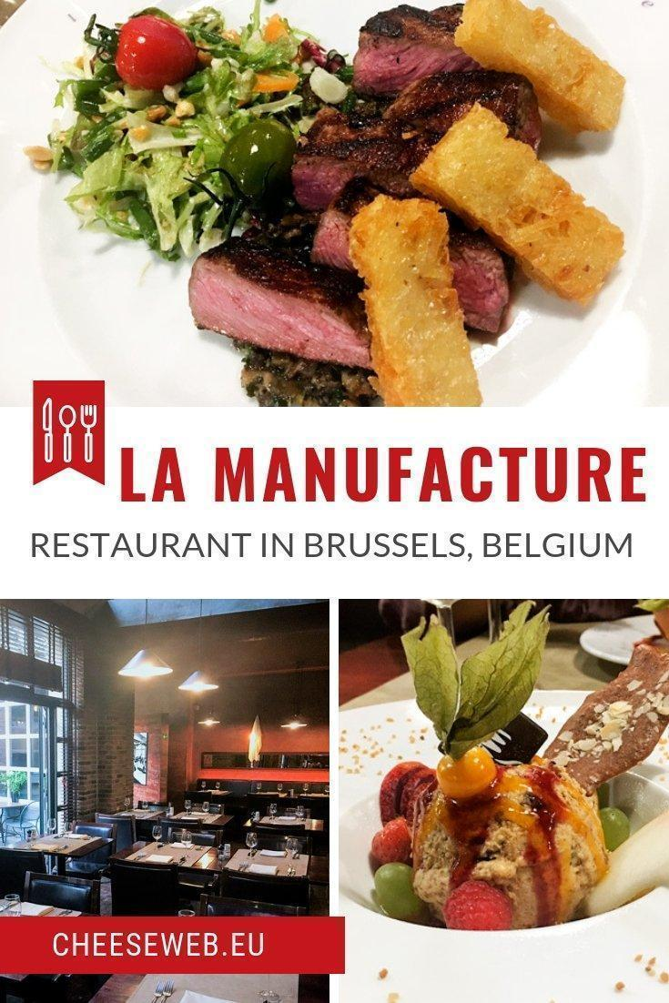 We review La Manufacture, a fine-dining restaurant in Brussels' center, steps from Grand Place, with a unique setting and fusion cuisine.