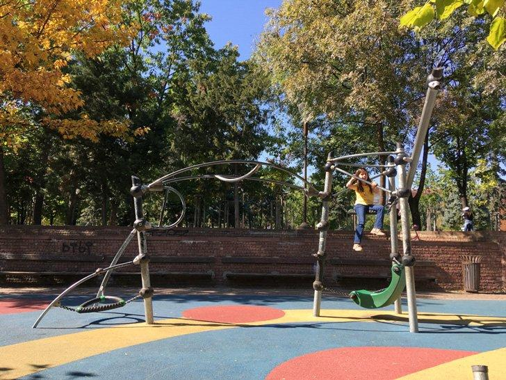 Explore the playgrounds of Sofia with kids