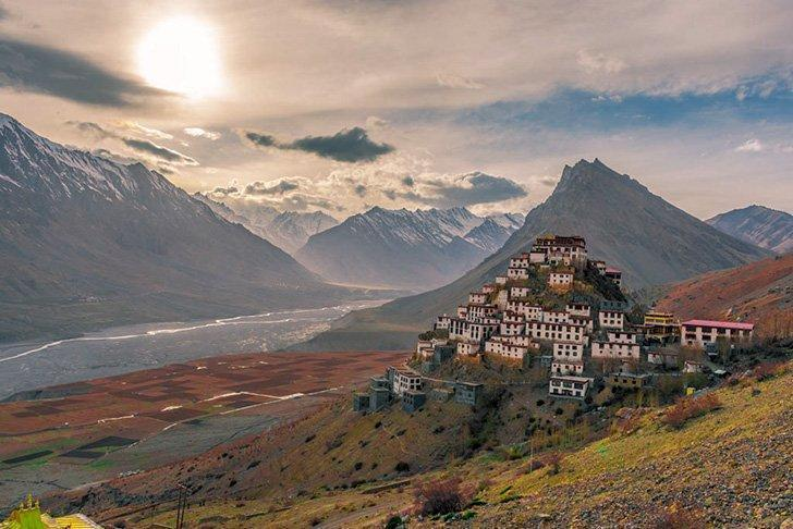 Visiting Kee Gompa Monastery is one of the best things to do in the Spiti Valley
