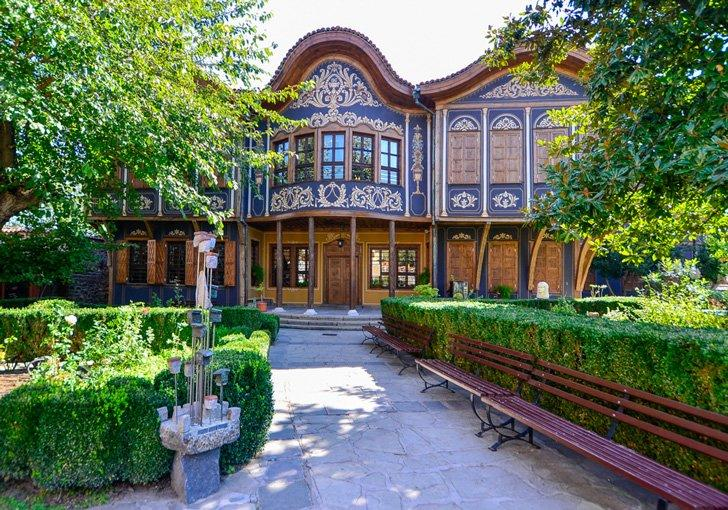 Beautiful Plovdiv, Bulgaria makes a great day trip from Sofia.