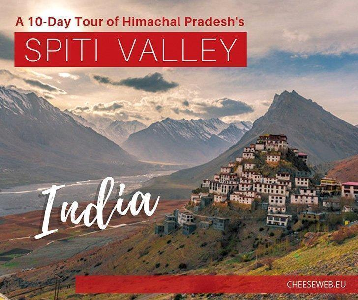 Radhika shares a 10-day Spiti Valley tour in the heart of Northern India's Himalayas in Himachal Pradesh. Tucked beside Tibet, this region is famous for picturesque villages, ancient monasteries, and the elusive snow leopard.