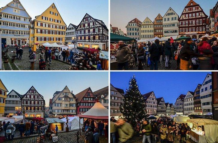 Tübingen Weihnachtsmarkt is one of the top Christmas Markets in Germany