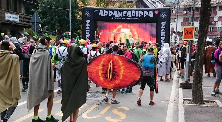 Great fun at the 2018 Arrancabirra Race, with a 'Lord of the Rings' fancy dress theme!