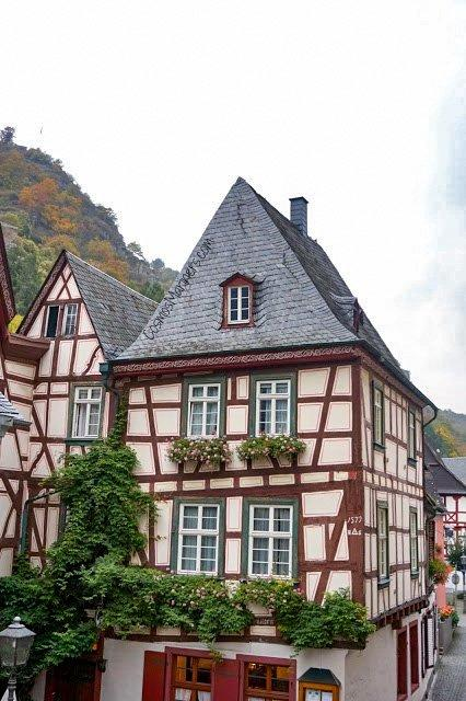 Bacharach is a beautiful village in Germany.