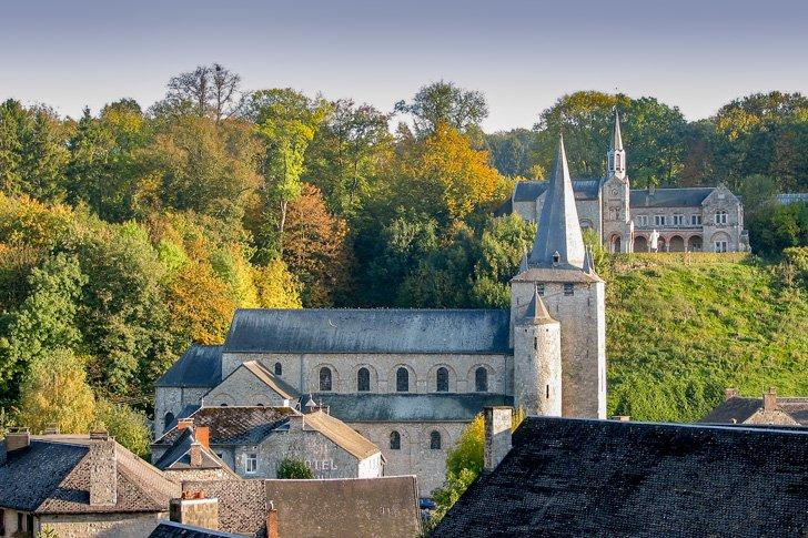 Visit Celles, near Dinant, one of the Plus Beaux Villages de Wallonie.