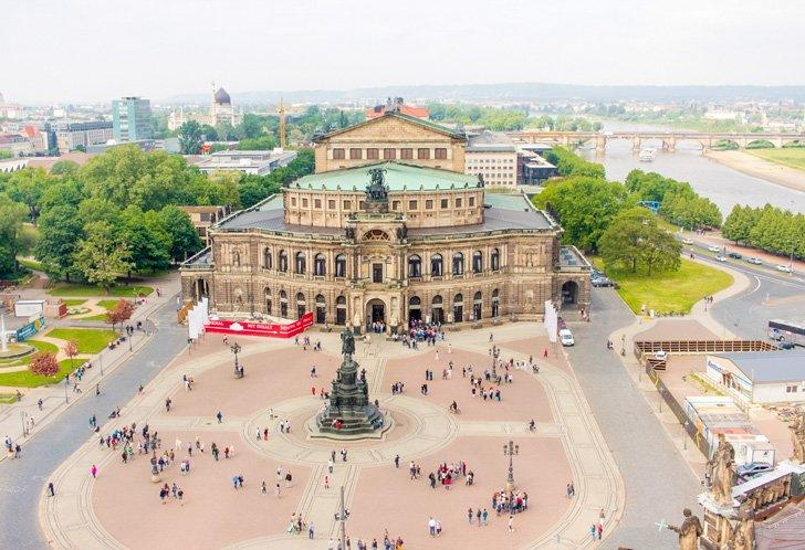 Dresden is a beautiful city in Germany to visit.