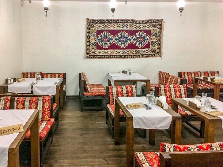 Musafir Crimean-Tatar Restaurant in Kiev, Ukraine