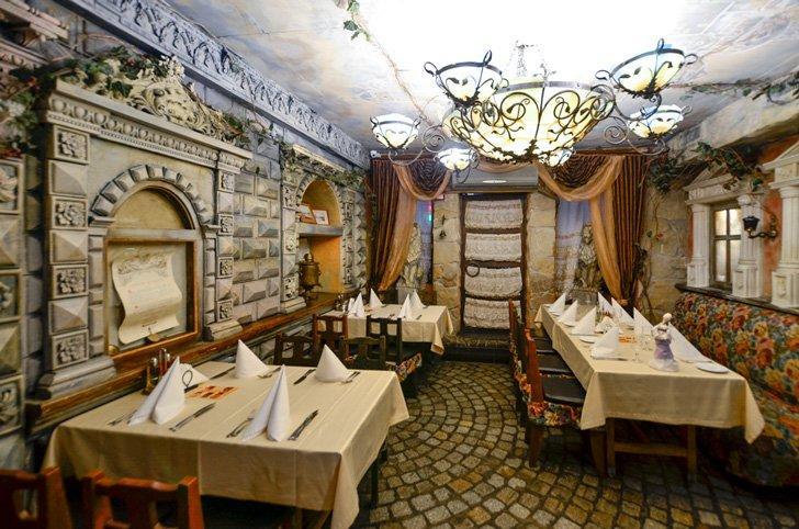 Pervak is a Ukrainian folk Restaurant in Kiev.