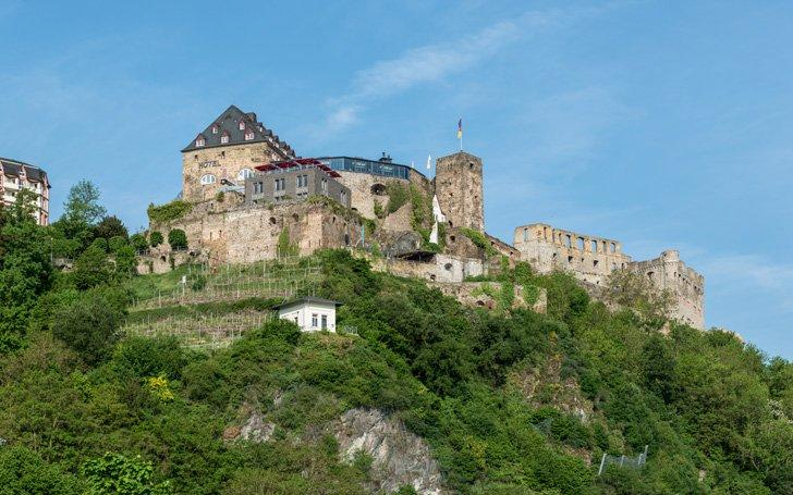 Rheinfels Castle a beautiful castle in Germany.