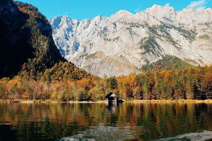 Lake Konigssee is one of the most beautiful natural destinations in Germany