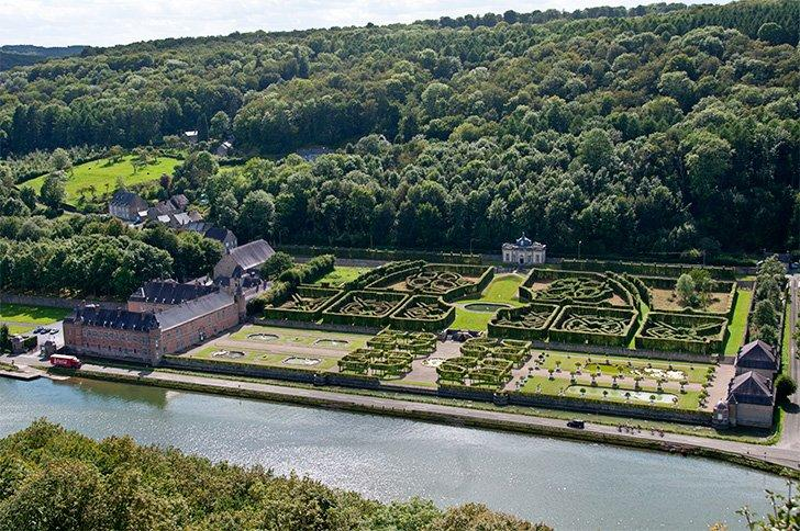 Freÿr is one of the most famous castles in Belgium and is easily reached from Dinant
