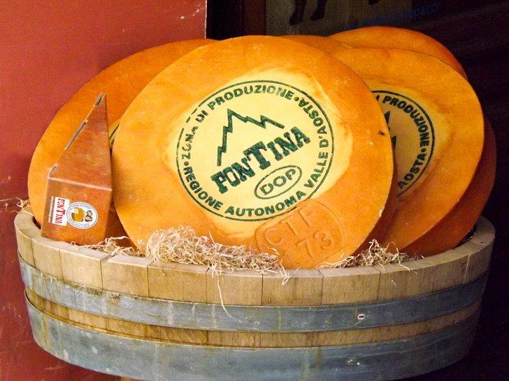 Fontina cheese may only be produced in the Val d'Aosta region of Italy.