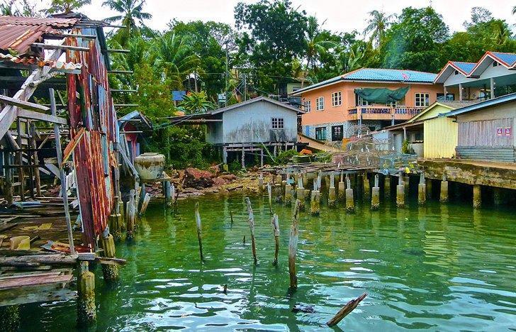 Ban Aosalad village on Koh Kood