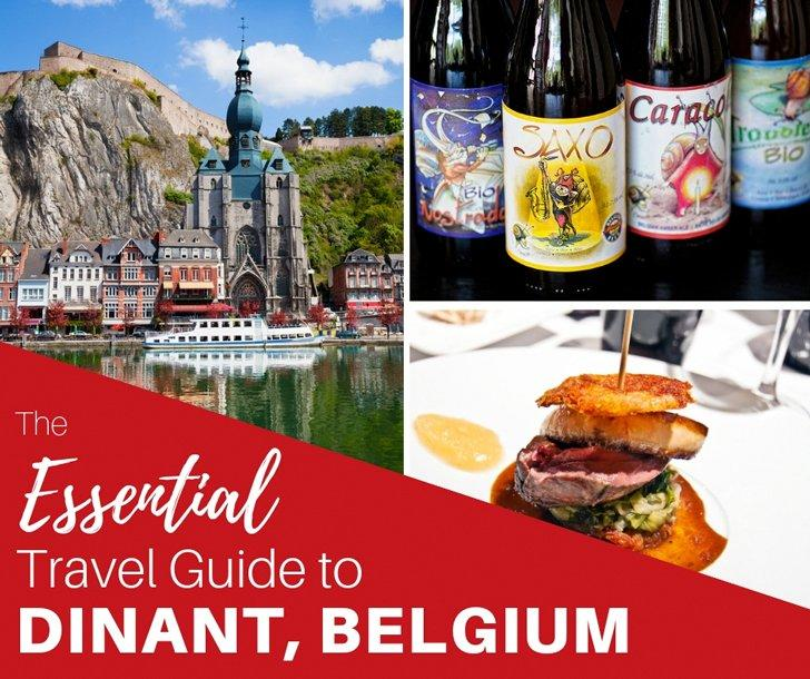 We share the top things to do in Dinant, Belgium and the surrounding area in Namur province, as well as the best restaurants in Dinant and where to stay to have a great weekend getaway in Belgium.