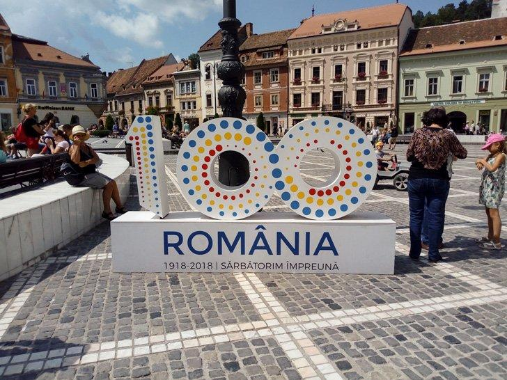 100 years of Romania in Brasov
