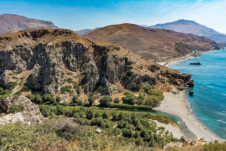 Preveli crete greece day trip
