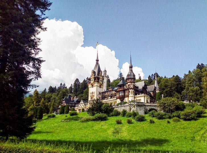 Peles Castle - best things to do in Romania