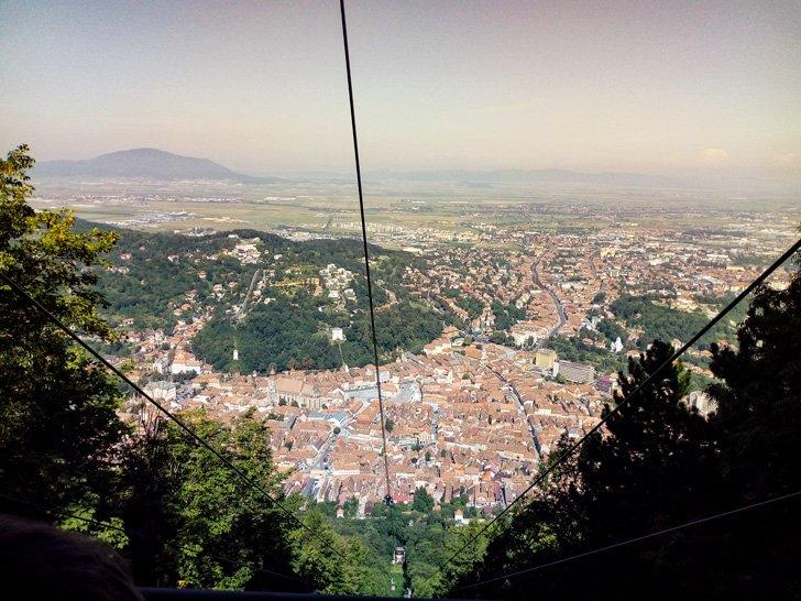 View from Tampa Brasov