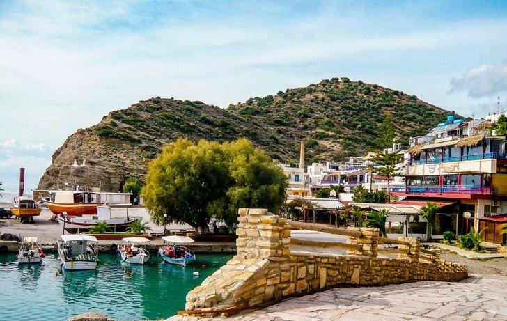 Don't forget to enjoy the peaceful village life in Agia Galini, Crete