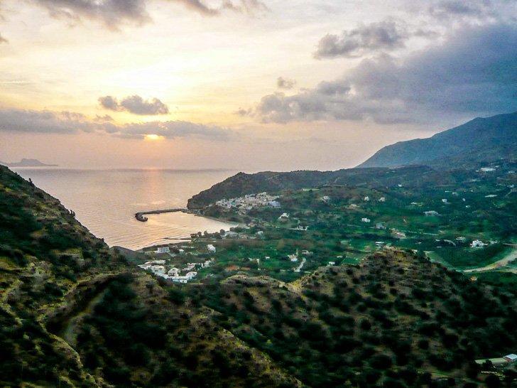 Agia Galini, Crete at sunrise