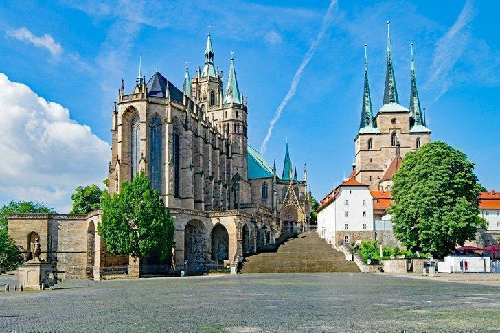 Visit the world's largest bell at Erfurt Cathedral in Thuringia, Germany