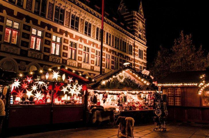 Visit the beautiful Christmas Markets in Erfurt, Germany.