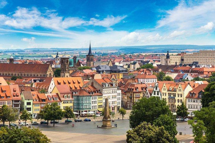 Take a guided walking tour of Erfurt, Germany.