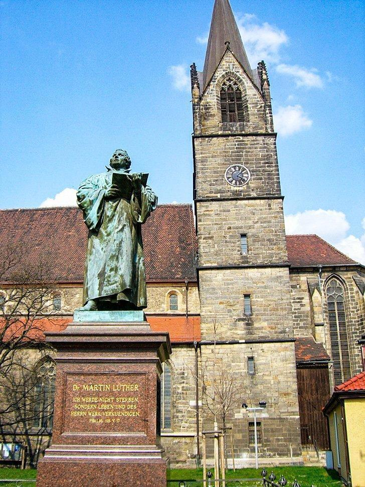 Follow in the footsteps of Martin Luther, one of Thuringia's most famous residents.