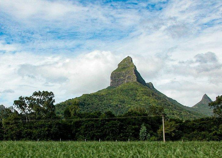 Hike to the top of Little Black River peak in Mauritius.