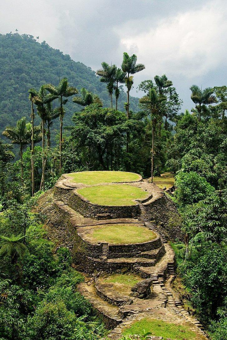Find your way to the Ciudad Perdida, the Lost City, in Colombia
