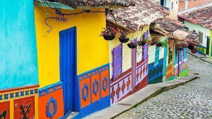 The colourful La Candelaria district of Bogotá, Colombia is not to be missed