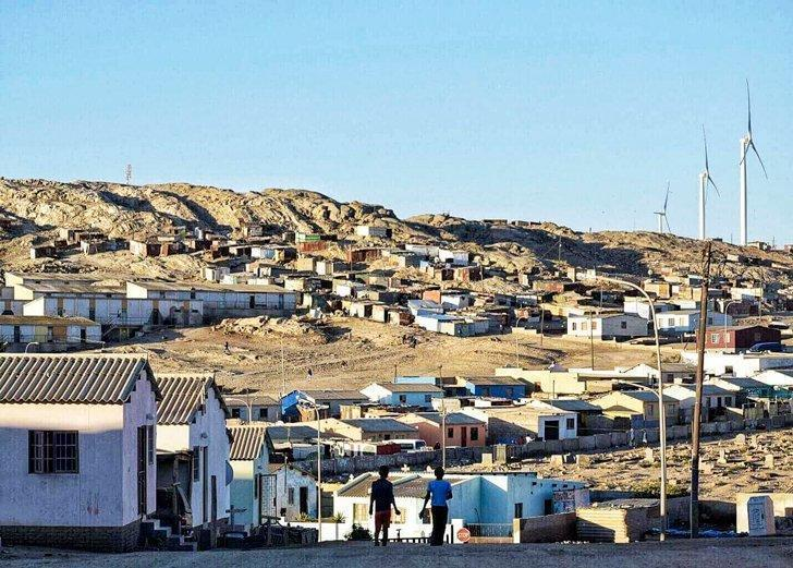Take a tour of the townships from Luderitz, Namibia