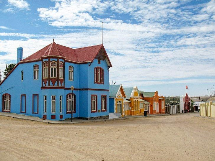 Art Nouveau in Luderitz Namibia