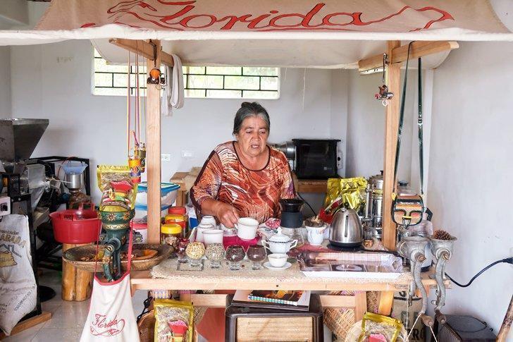 Colombian coffee tour jardin