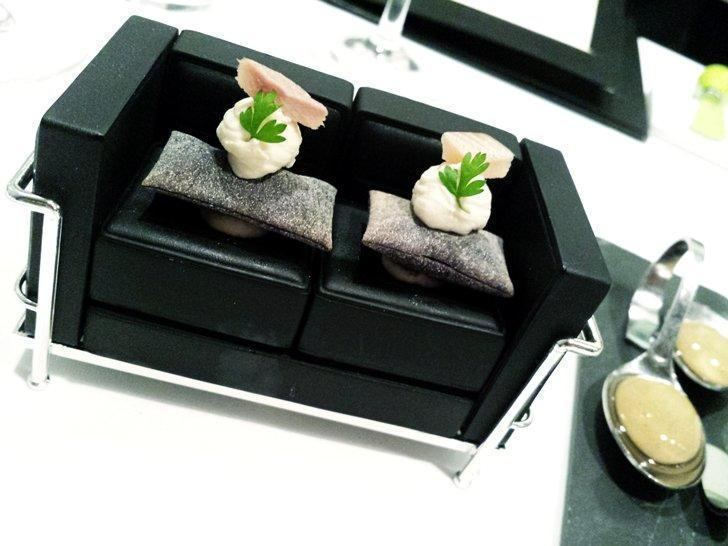 Alexandre is one of the top fine dining restaurants in Brussels, Belgium