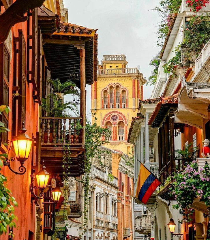 places to visit in colombia cartegena