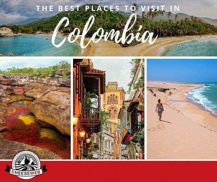 Best Places For Christmas Vacation Usa: The Best Places To Visit In Colombia, South America