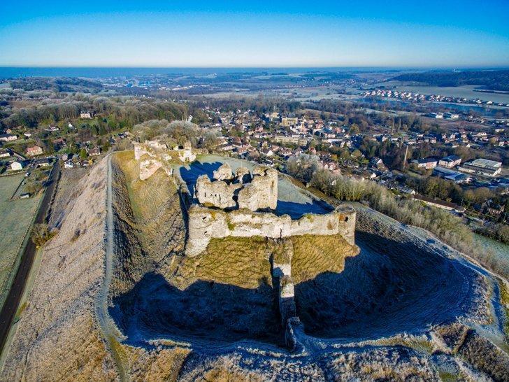Arques-la-Bataille castles near normandy france