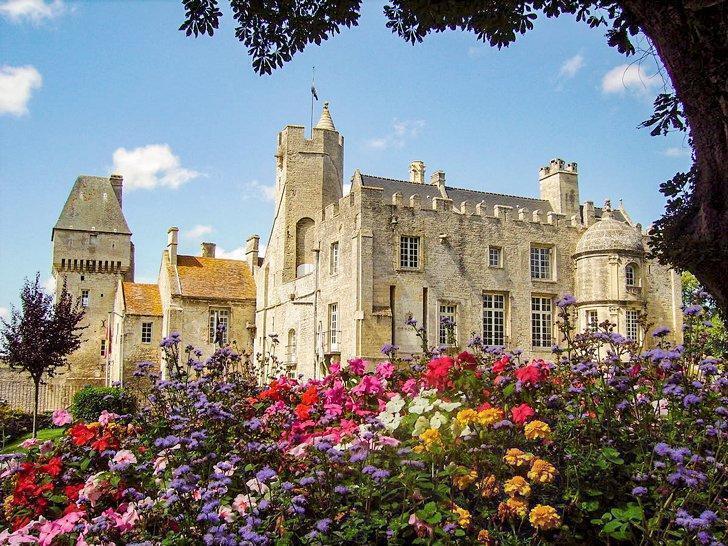 Chateau de Creully Castles Normandy