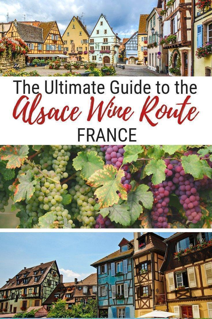 Catherine shares how to explore the Alsace Wine Route by car including the best cities and villages to visit along the way and the best accommodations on the Alsace Wine Route, in Grand Est, France.
